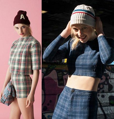 ropa de cuadros de asos otoño invierno 2014 2015