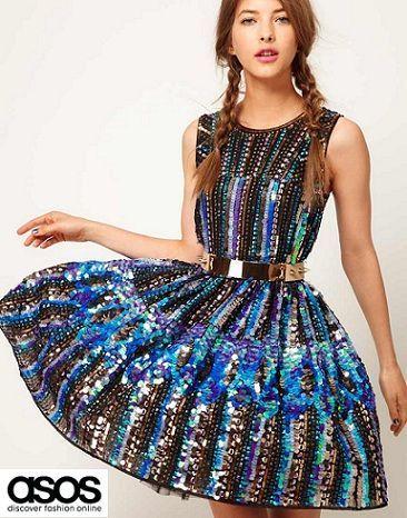 catalogo asos vestidos de fiesta fin de ano navidad 2012 2013