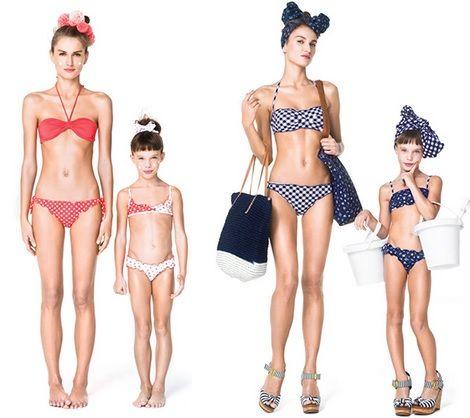 bikinis benetton primavera verano 2013