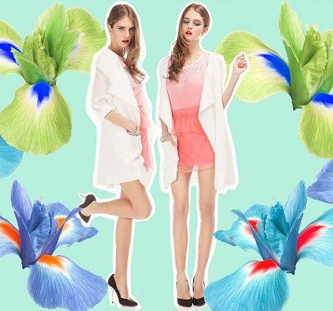 vestidos de bershka primavera verano 2013