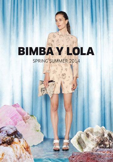 Campaña de Bimba y Lola primavera verano 2014