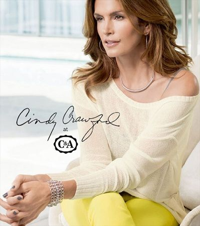 catalogo c and a primavera verano 2013 con cindy crawford