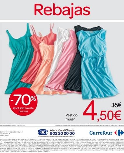Folleto de rebajas de carrefour del verano 2013 cat logos de moda - Ropa interior carrefour ...