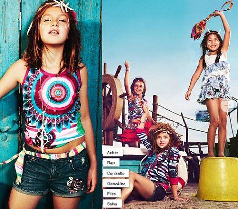 catalogo desigual niños primavera verano 2013