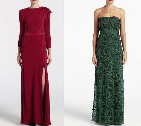 catalogo el corte ingles vestidos de fiesta fin de ano navidad 2012 2013