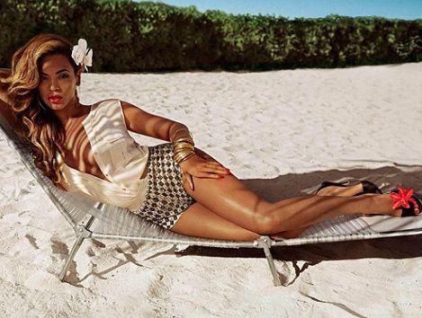 bikinis H&M primavera verano 2013 con Beyonce