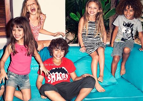 campana H&M niños verano 2013