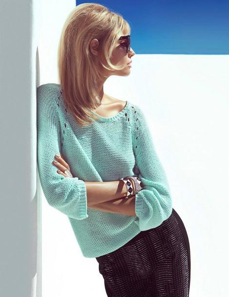 Catálogo de H&M primavera verano 2013 ropa de moda