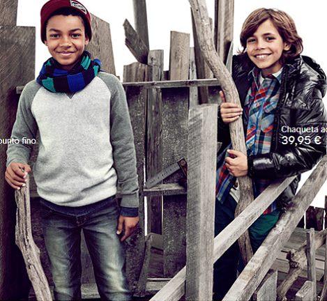 abrigo de hym niños otoño invierno 2013 2014