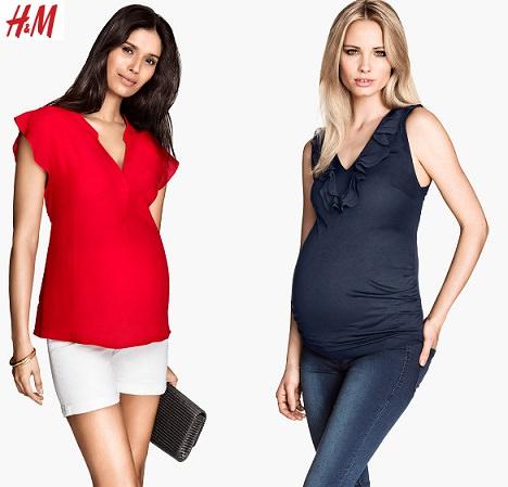 catálogo de H&M premama primavera verano 2014