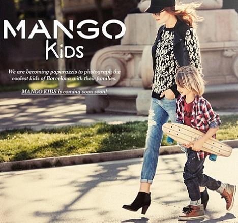 catalogo mango niños primavera verano 2013
