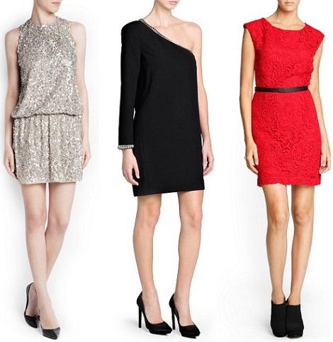 colección de vestidos de mango para nochevieja y navidad 2013