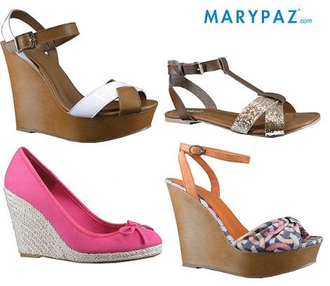 a654a828d70 Las sandalias de rebajas de Marypaz de este verano – Catálogos de Moda