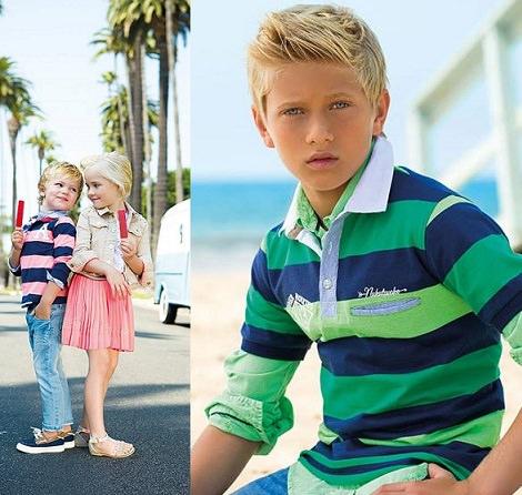 Las primeras imágenes del catálogo de Mayoral primavera verano 2014