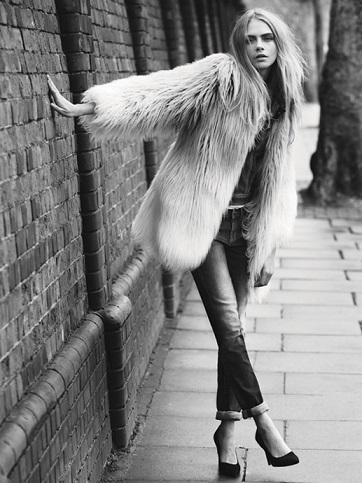 cara delevigne es la nueva imagen de pepe jeans para este otoño invierno 2013 2014