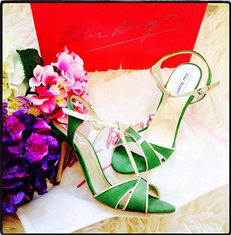 zapatos y sandalias de pilar burgos primavera verano 2014