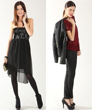catalogo pimkie ropa de fiesta fin de ano navidad 2012 2013