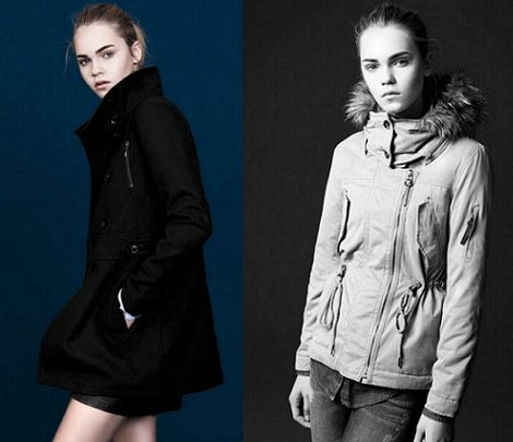 catalogo pull and bear basicos invierno 2013