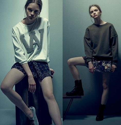 nueva colección de moda de pull and bear otoño invierno 2013 2014