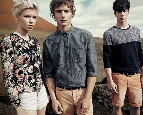 catalogo pull and bear primavera verano 2013