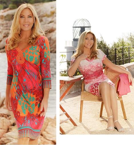 Vestidos de verano en punto roma