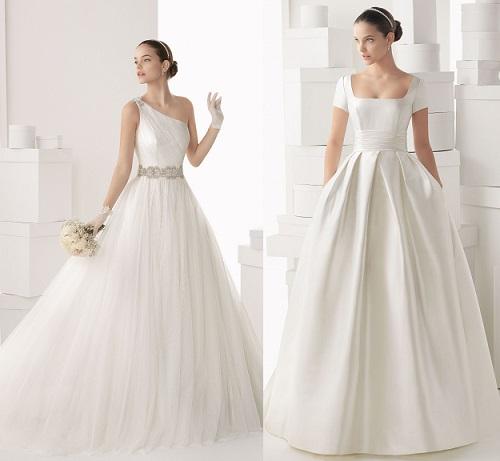 Catalogos de vestidos de novia elegantes