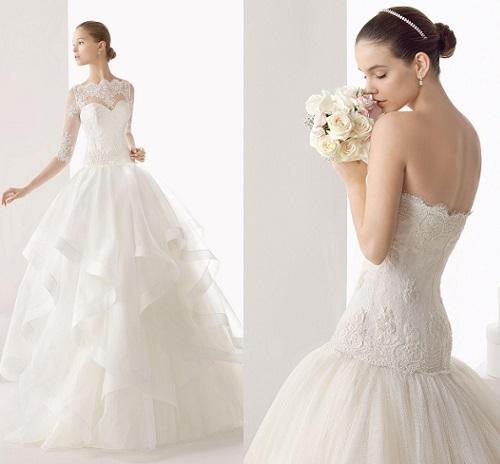 47332ef16 Vestidos de novia Rosa Clará 2014 – Catálogos de Moda