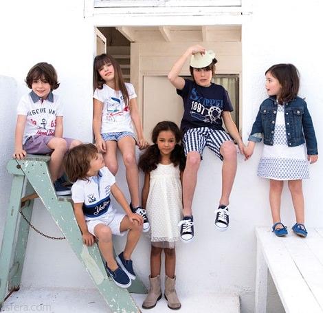 catálogo de sfera para niños primavera verano 2014