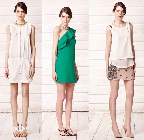 vestidos de sfera primavera verano 2013