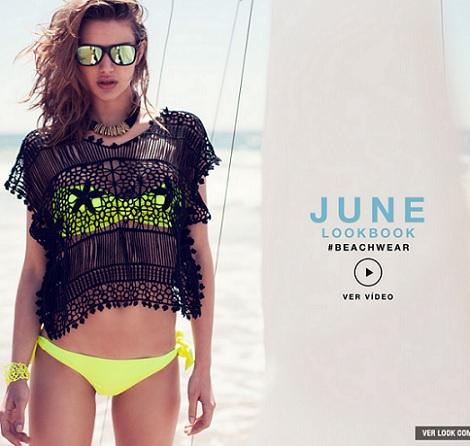 coleccion de bikinis de Stradivarius para el verano 2013