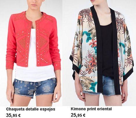 stradivarius ropa primavera verano 2013