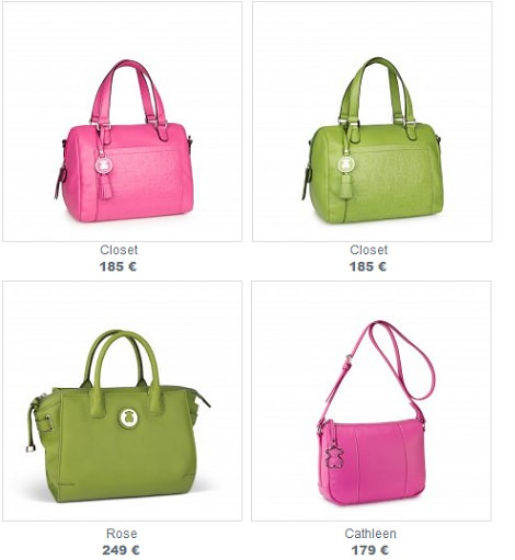 catálogo bolsos de tous primavera verano 2014