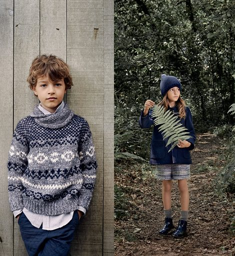 catalogo de zara niños otoño invierno 2014 2015