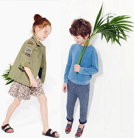 Catálogo Zara niños primavera verano 2014, ropa y accesorios