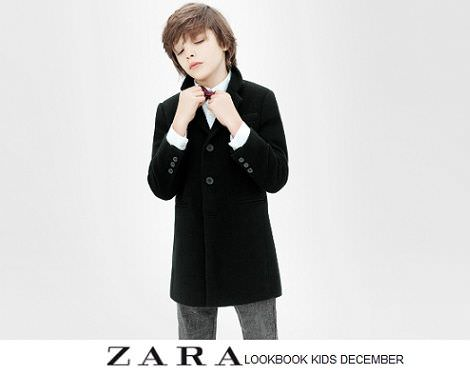 catalogo zara ninos ropa de fiesta fin de ano navidad 2012 2013