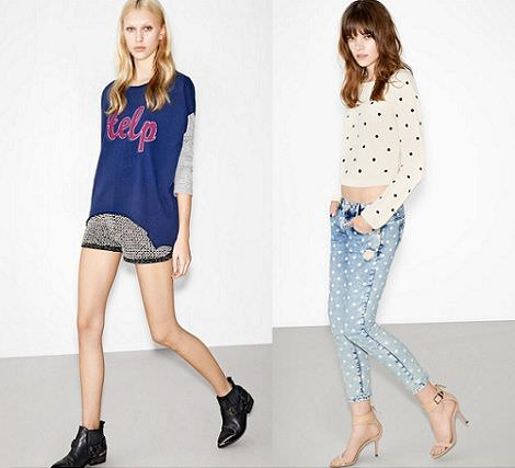 zara trafaluc lookbook primavera 2013