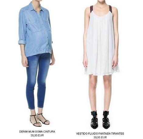 la ropa premama de zara primavera verano 2013